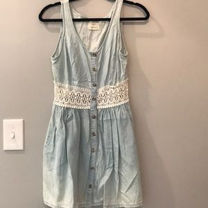 Urban outfitters denim dress